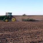 Planting and Digger in Field