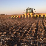 planting soybeans on ridges