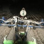 applyind anhydrous ammonia after a snow
