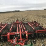 corn on corn tillage with the Excelerator